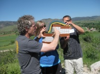 Demonstrating faulting and folding of the modern Rockies