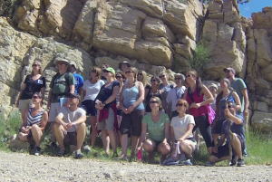 PSD Geology Field Trip Experience for Teachers- Group Photo