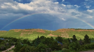 rainbow over herbsearth